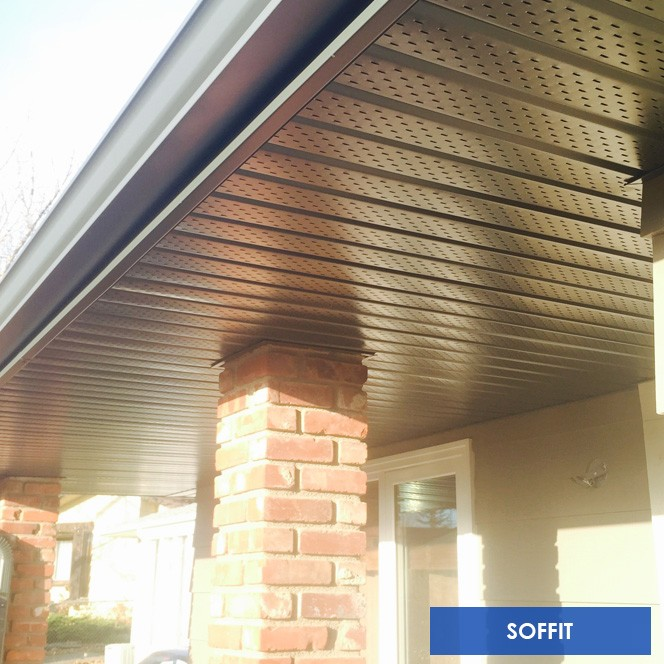 Chinook Exteriors Calgary Soffit