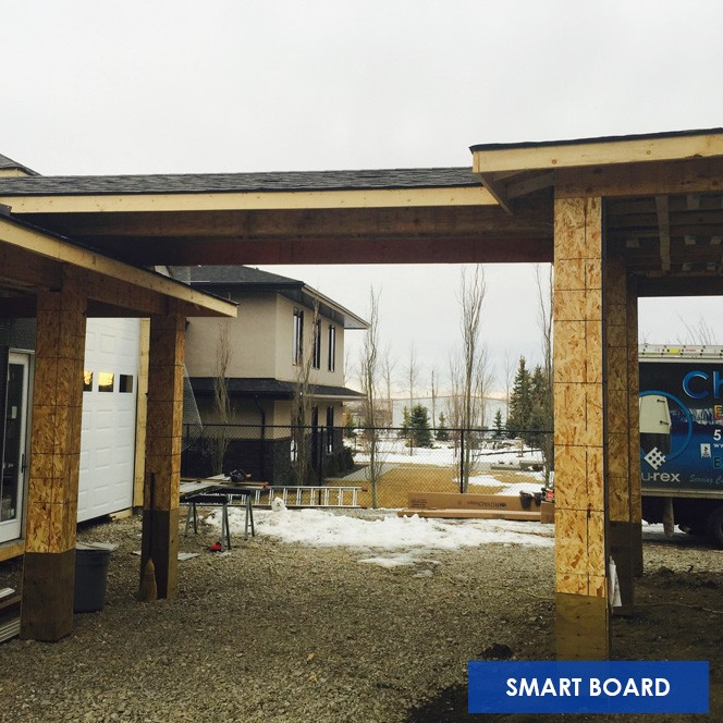 Chinook Exteriors Calgary Smart Board